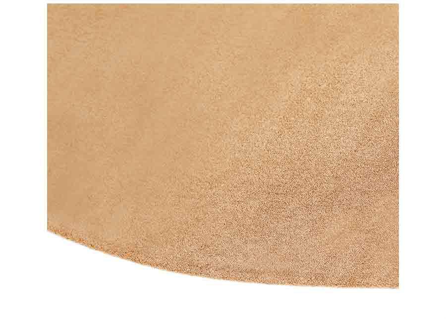 Narma velour matto Eden gold pyöreä Ø 200 cm