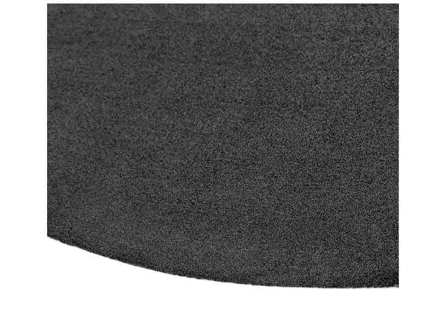 Narma velour matto Eden carbon pyöreä Ø 133 cm