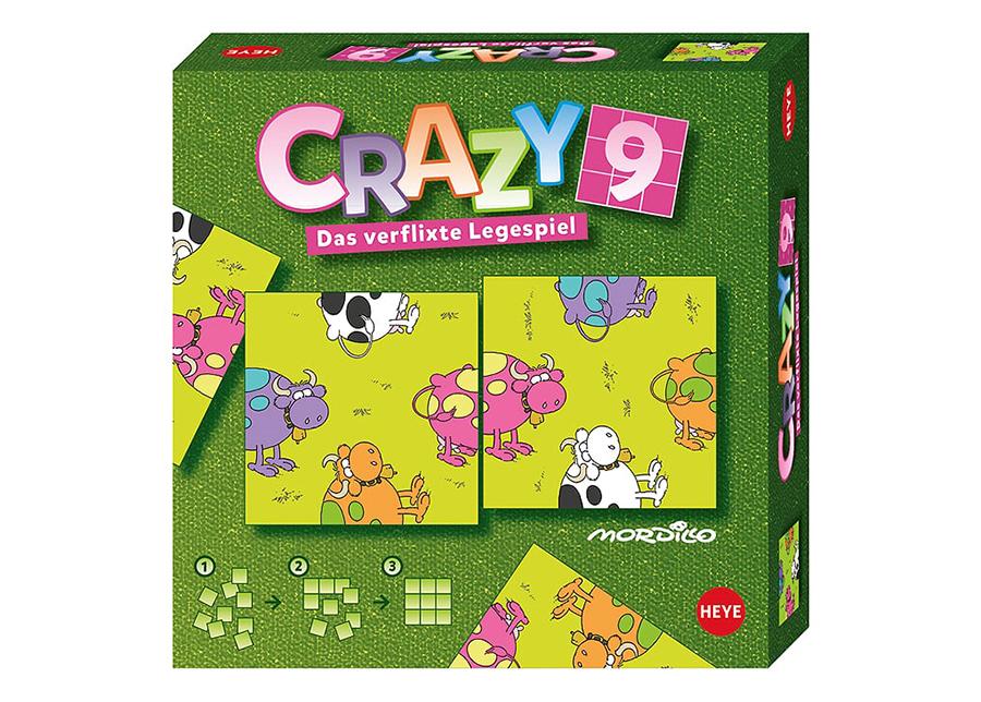 Pöytäpeli Crazy9 Modillo Cows