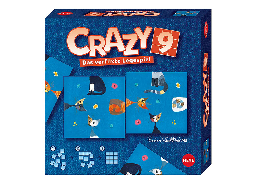 Pöytäpeli Crazy9 Wachtmeister Cats