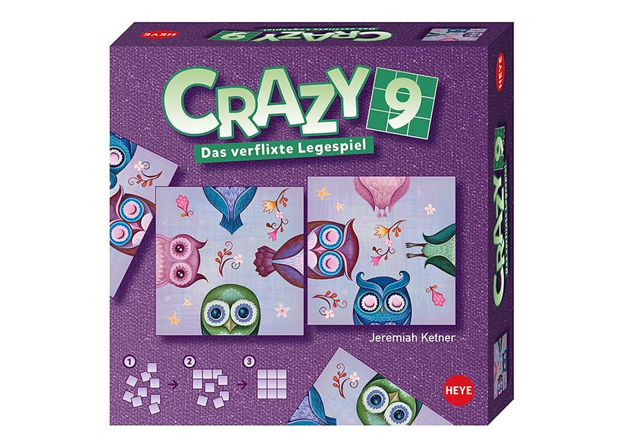 Pöytäpeli Crazy9 Ketner Owls