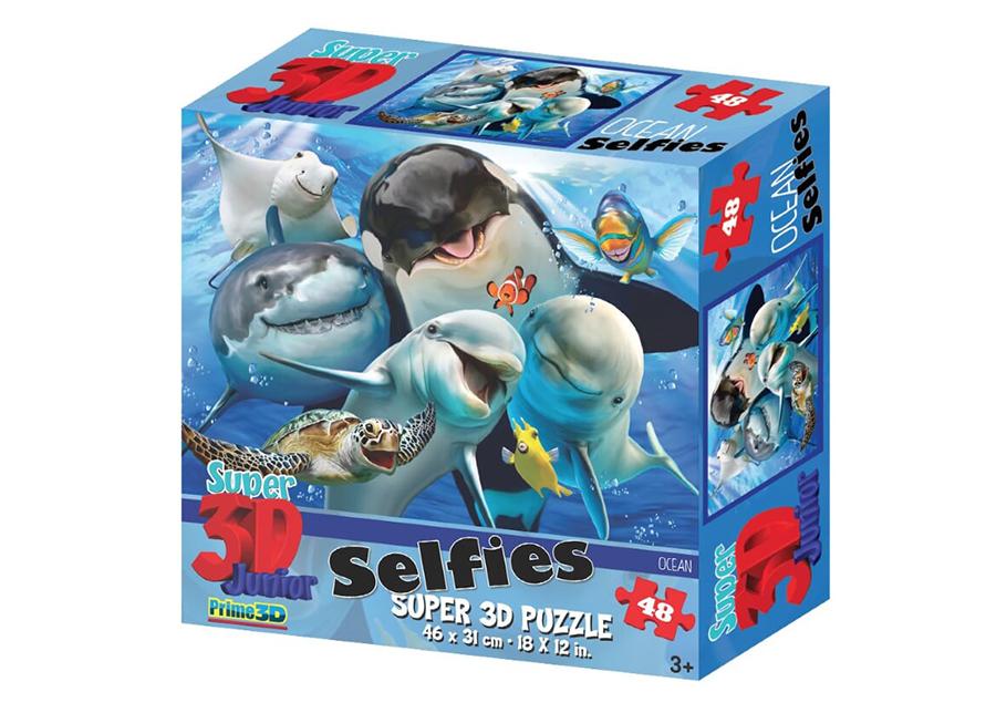 Palapeli 3D Ocean Selfies 48 osaa