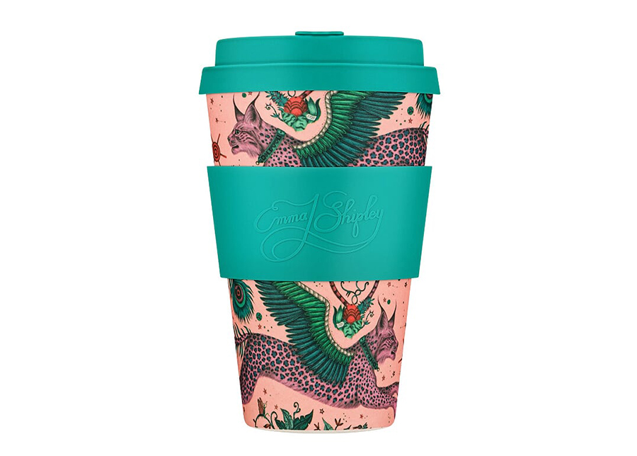 Kahvimuki Ecoffee Cup Lynx 400 ml