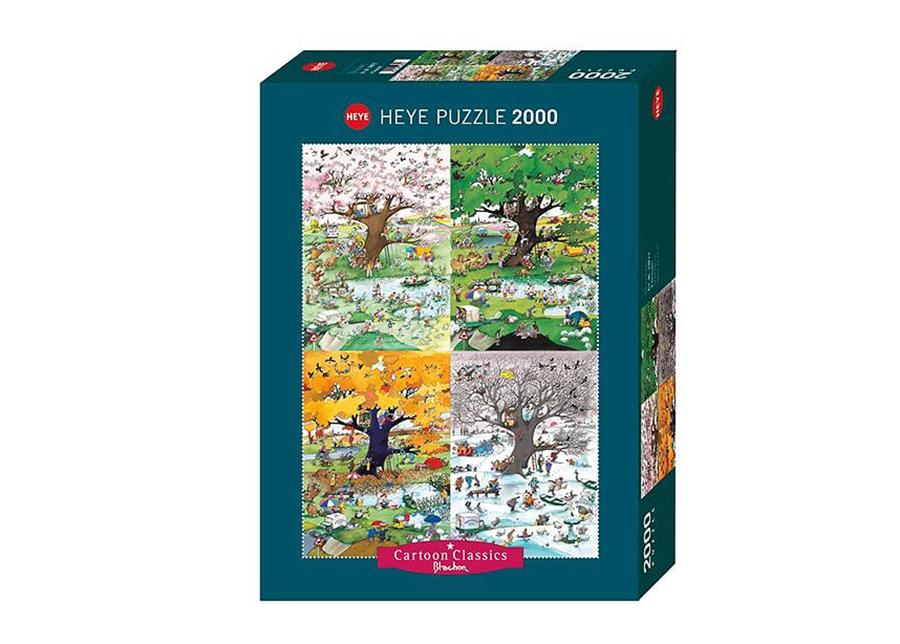 Palapeli 4 Seasons Cartoon Classics 2000 osaa