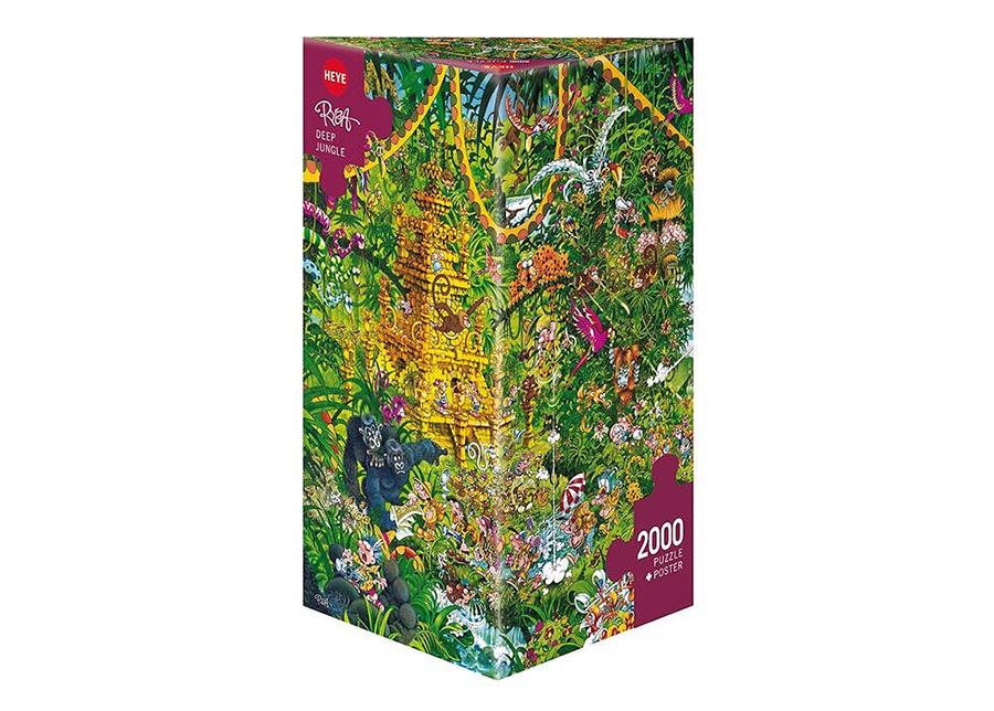 Palapeli Deep Jungle 2000 palaa