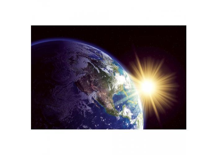 Fleece-kuvatapetti Earth 375x250 cm