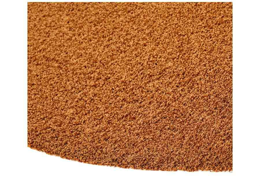 Narma pitkäkarvainen matto Spice caramel pyöreä Ø 133 cm