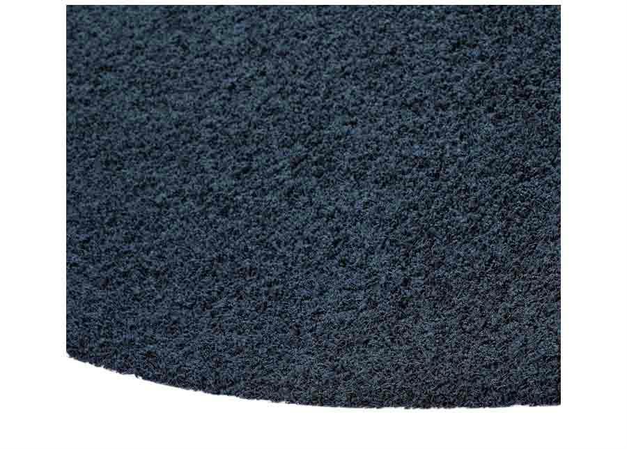 Narma pitkäkarvainen matto Spice navy pyöreä 133 cm