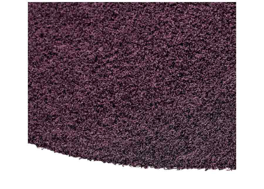Narma pitkäkarvainen matto Spice plum pyöreä Ø 133 cm