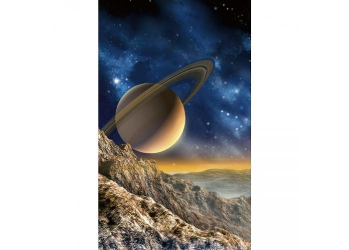 Fleece-kuvatapetti Spacescape 150x250 cm