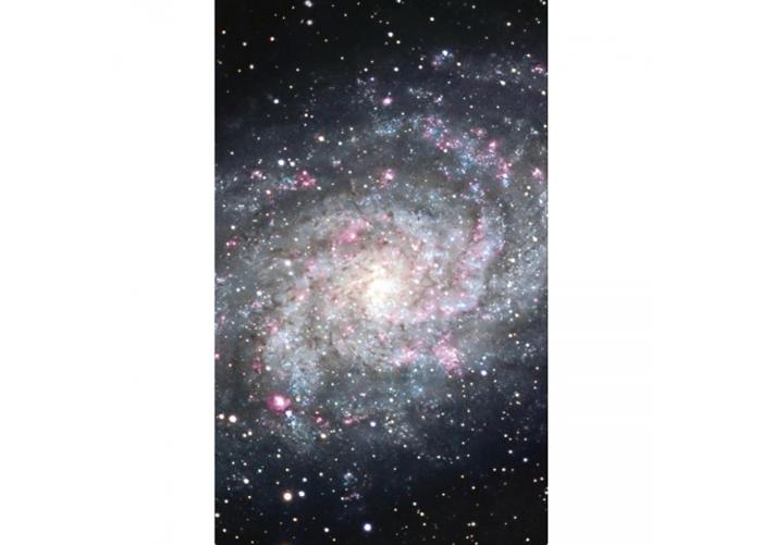 Fleece-kuvatapetti Galaxy 150x250 cm