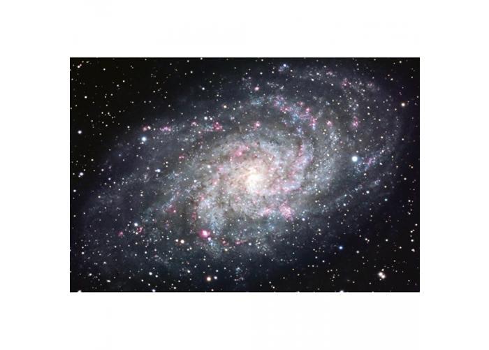 Fleece-kuvatapetti Galaxy 375x250 cm