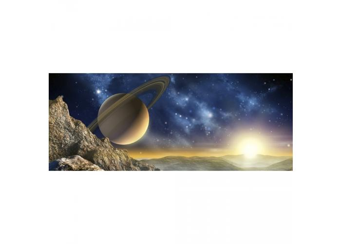 Fleece-kuvatapetti Spacescape 375x150 cm