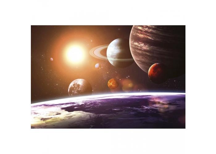 Fleece-kuvatapetti Solar system 375x250 cm