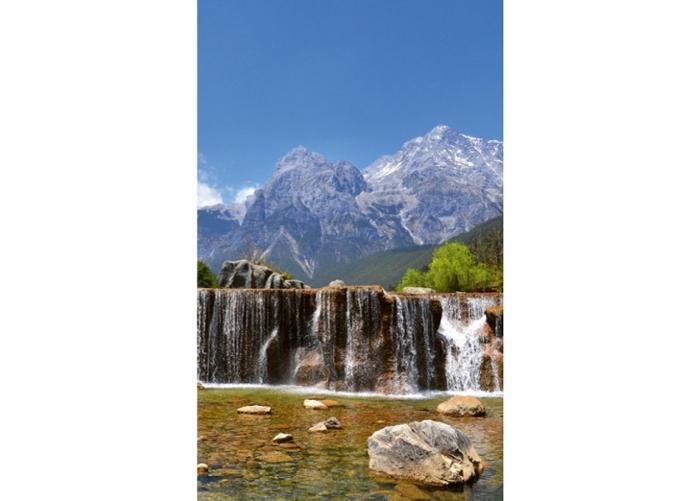 Fleece-kuvatapetti Alps 150x250 cm