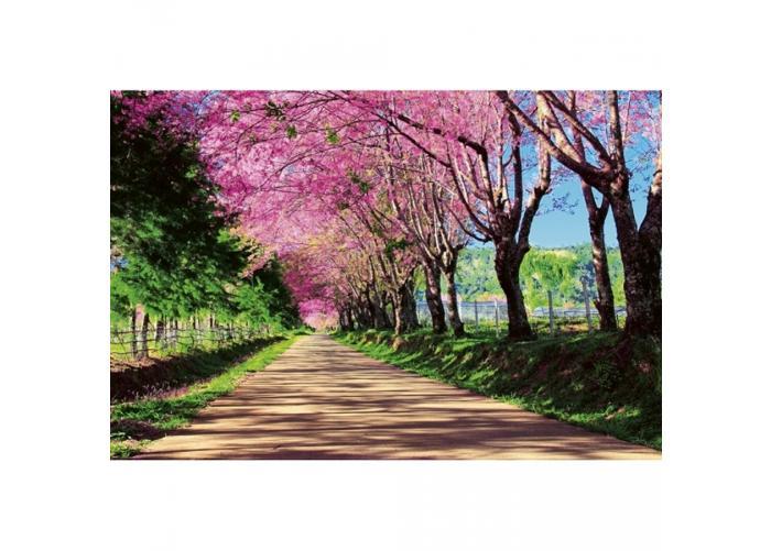 Fleece-kuvatapetti Blossom alley 375x250 cm