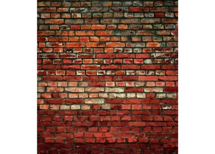 Fleece-kuvatapetti Brick wall 225x250 cm