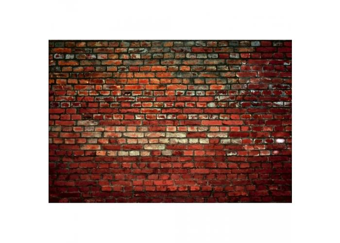 Fleece-kuvatapetti Brick wall 375x250 cm