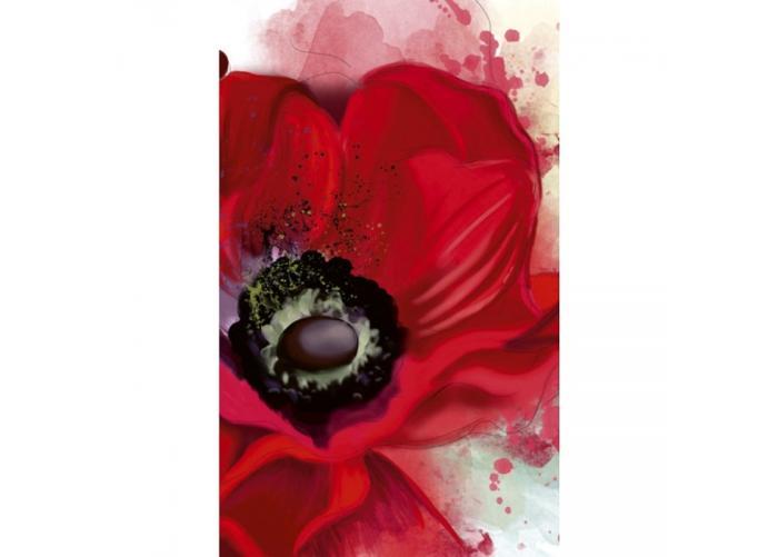 Fleece kuvatapetti Poppy 150x250 cm