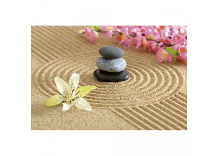 Fleece kuvatapetti Zen garden 375x250 cm