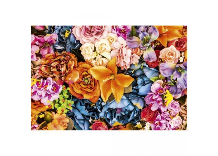 Fleece kuvatapetti Vintage flowers 375x250 cm