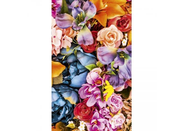 Fleece kuvatapetti Vintage flowers 150x250 cm