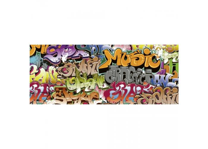 Fleece kuvatapetti Graffiti art 375x150 cm