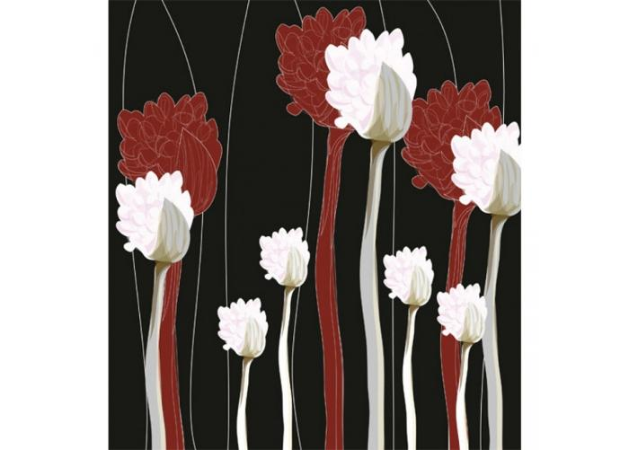 Fleece kuvatapetti Plant 225x250 cm