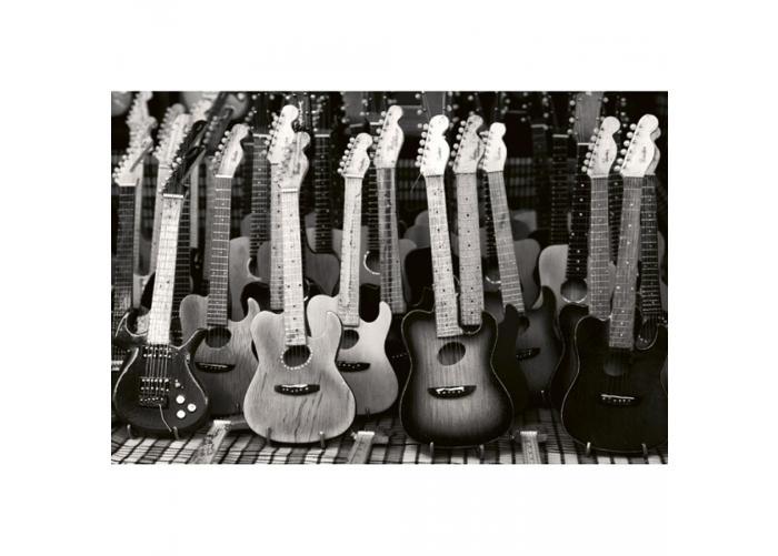 Fleece kuvatapetti Guitars collection 375x250 cm