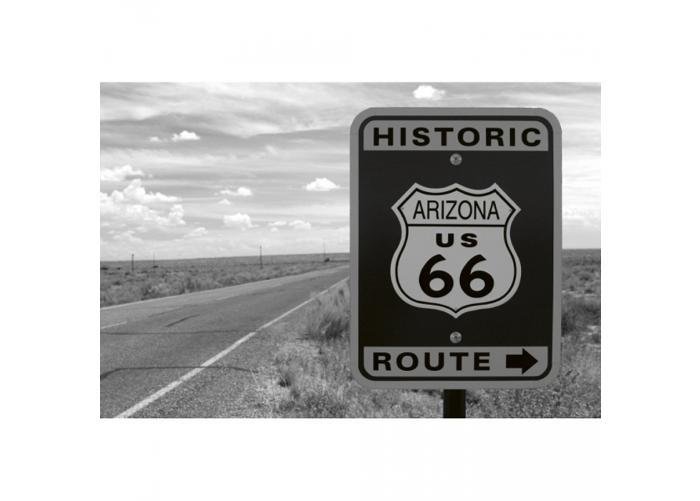 Fleece kuvatapetti Historic route 375x250 cm