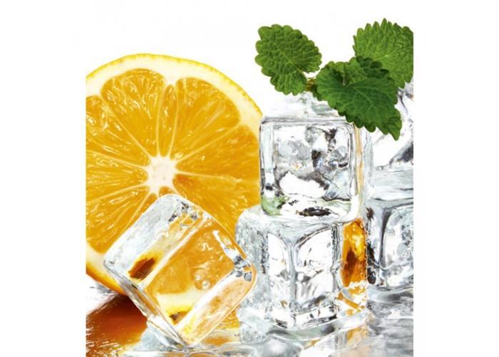 Fleece kuvatapetti Lemon and ice 225x250 cm