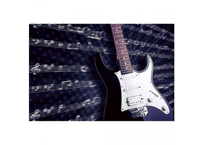 Fleece kuvatapetti Electric guitar 375x250 cm