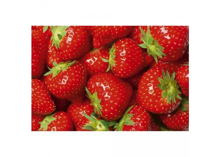Fleece kuvatapetti Strawberry 375x250 cm