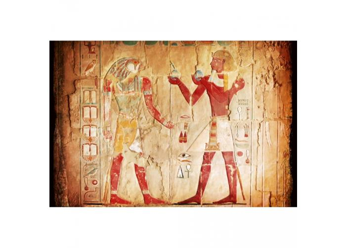 Fleece kuvatapetti Egypt painting 375x250 cm
