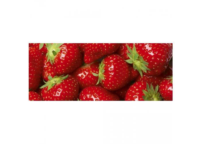 Fleece kuvatapetti Strawberry 375x150 cm