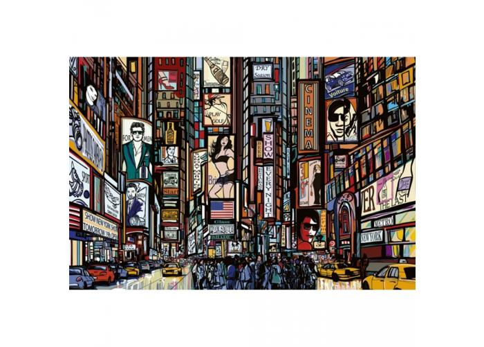 Fleece kuvatapetti Times Square 375x250 cm