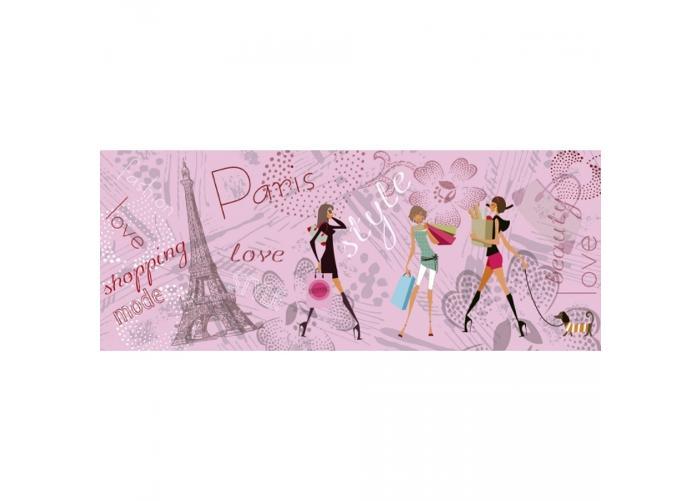 Fleece kuvatapetti Paris style 375x150 cm