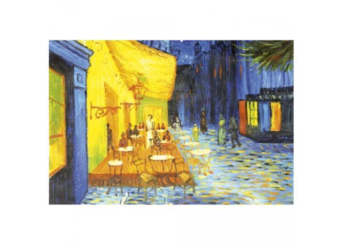 Fleece-kuvatapetti Cafe terrace 375x250 cm