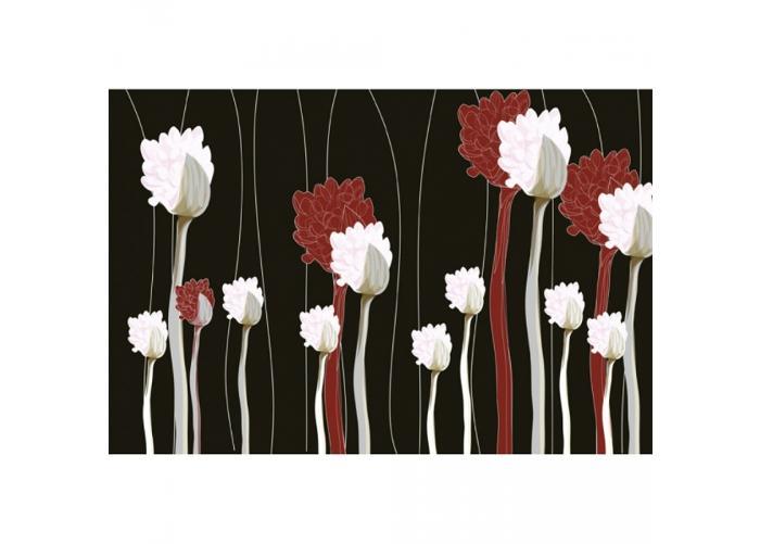 Fleece-kuvatapetti Plant 375x250 cm