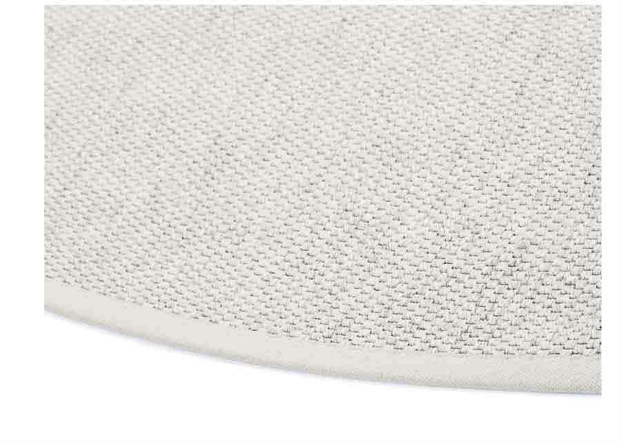 Narma villamatto Savanna white pyöreä Ø 160 cm
