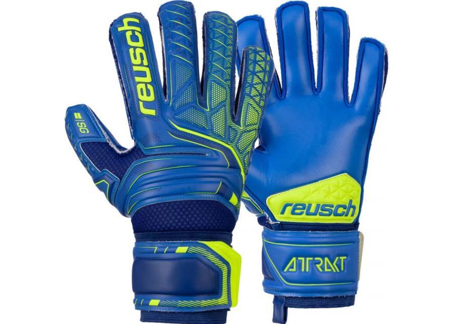 Maalivahdin hanskat Reusch Attrakt SG Extra Finger Support 5070830 4949