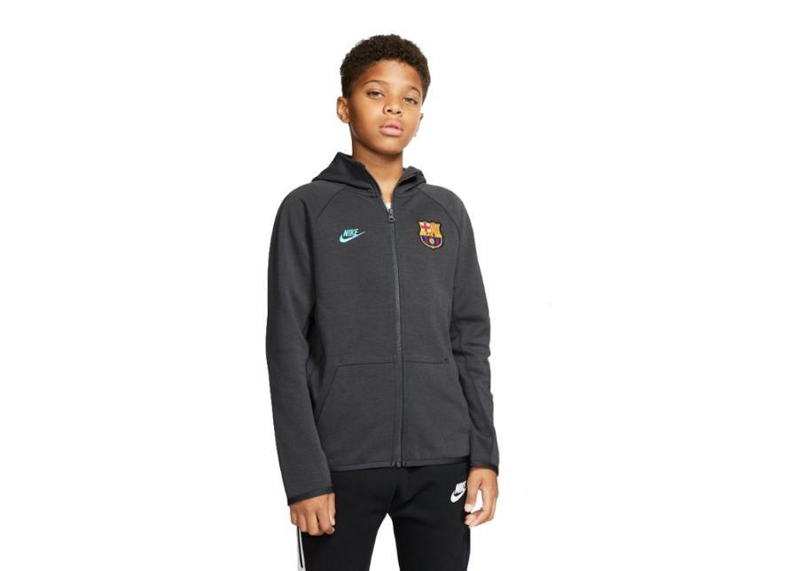 Lasten huppari Nike FC Barcelona Tech Fleece Essentials JR BV0490-070