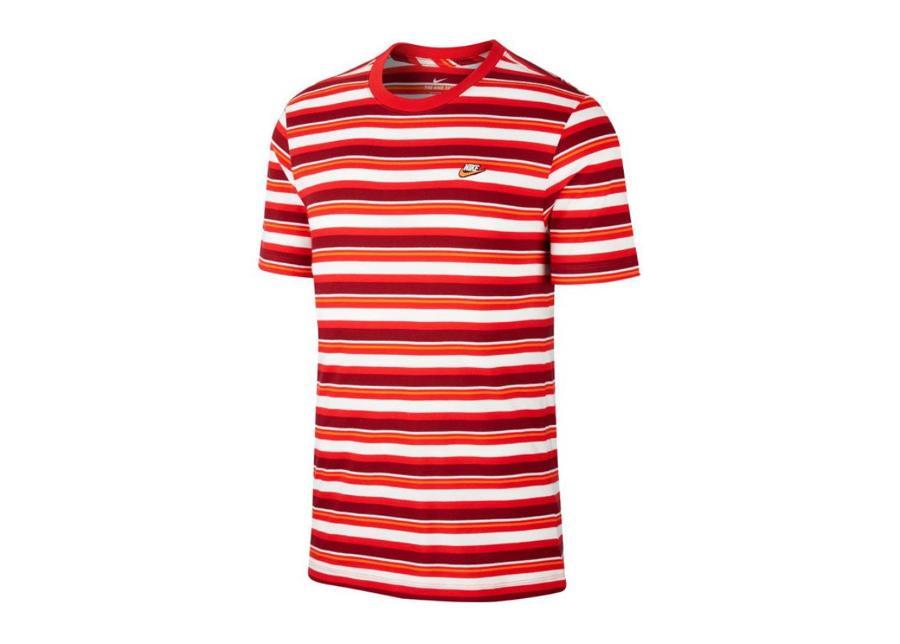 Miesten vapaa-ajanpaita Nike Nsw Tee Stripe M CK2702-657