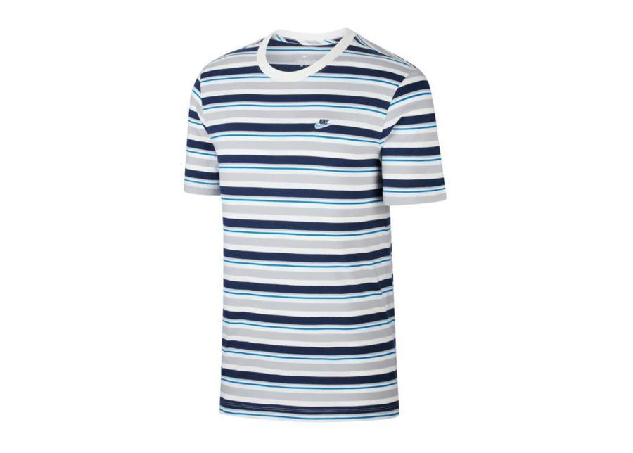 Miesten vapaa-ajanpaita Nike Nsw Tee Stripe M CK2702-100