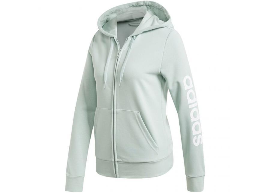 Naisten huppari adidas W Essentials Linear Full Zip Hoodie W FM6484