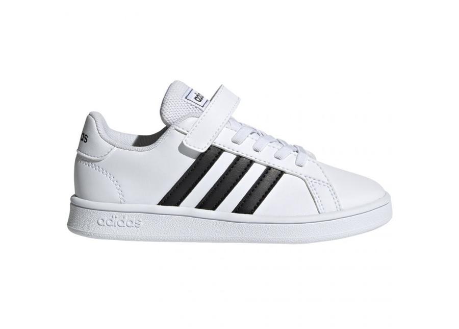 Lasten vapaa-ajan jalkineet Adidas Grand Court C Jr EF0109