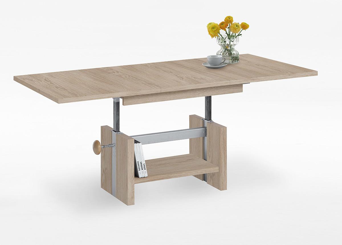 Säädettävä sohvapöytä ARLES 110-150x70 cm