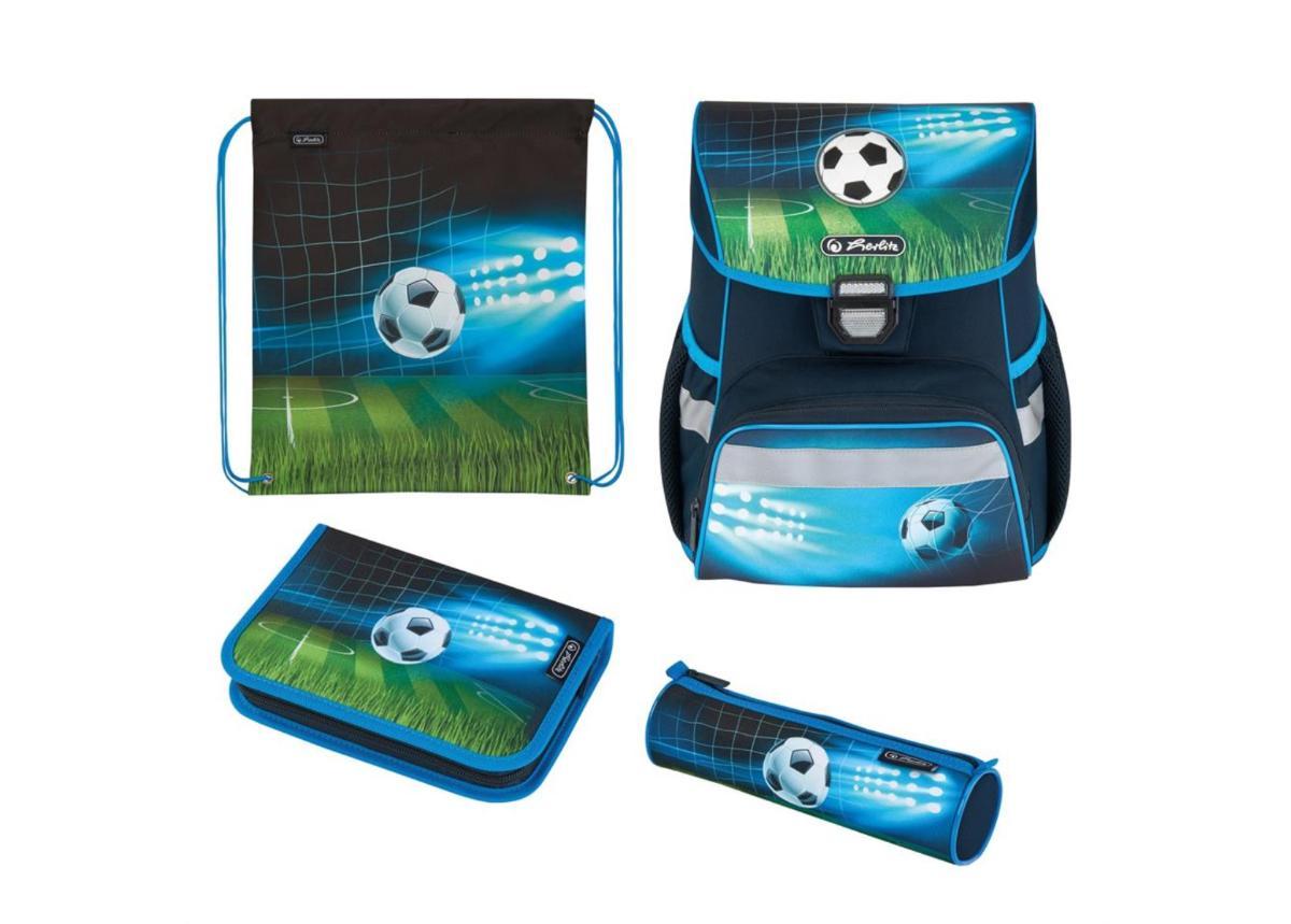 Koulu- ja selkäreppu Loop Plus Soccer