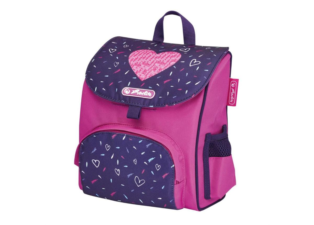 Koulu- ja selkäreppu Mini Softbag Tropical Heart