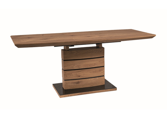 Jatkettava ruokapöytä Leonardo 140-180x80 cm